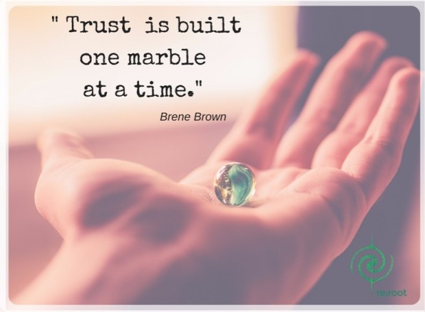Trust is builtone marble at a time