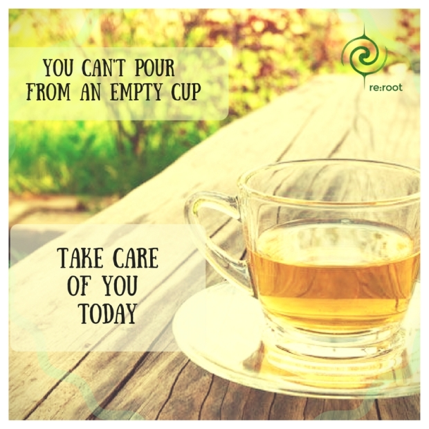 You can't pour from anempty cup